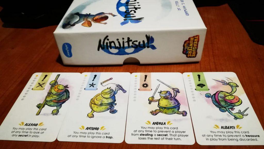 Ninjitsu! promo cards