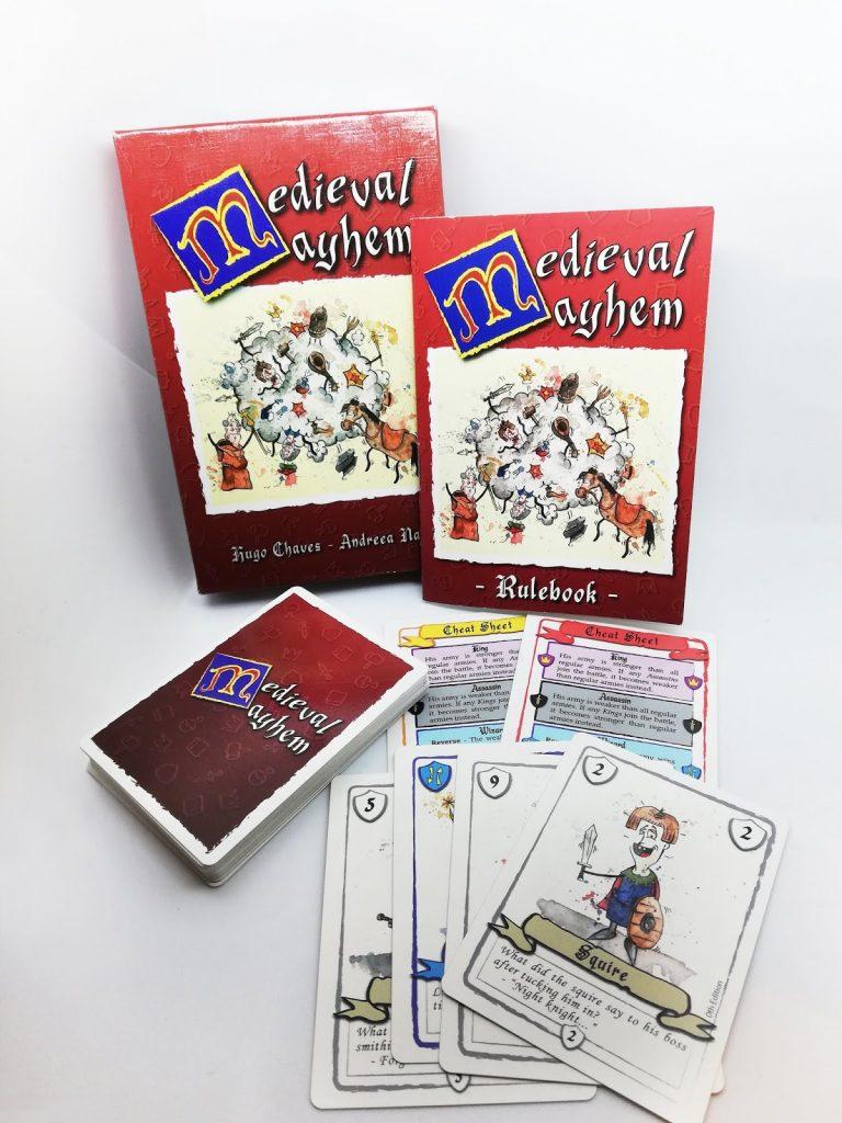 Medieval Mayhem box content