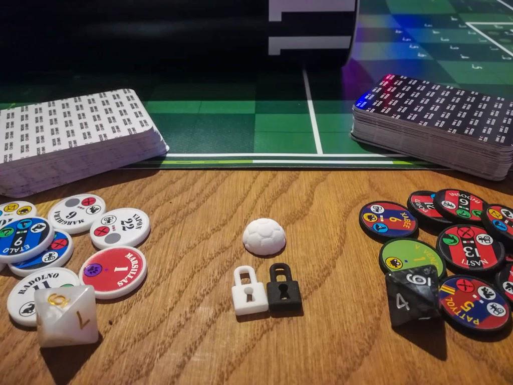 UND1C1 Soccer components