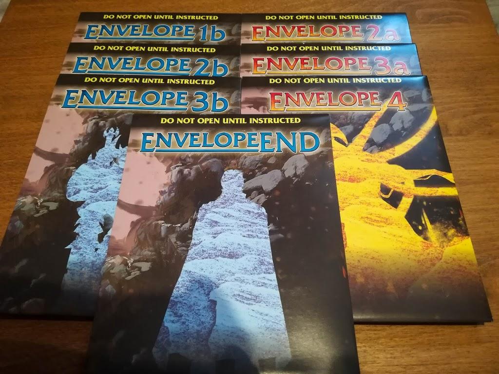 Aeon's End: Outcasts envelopes