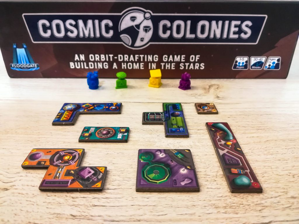 Cosmic Colonies components