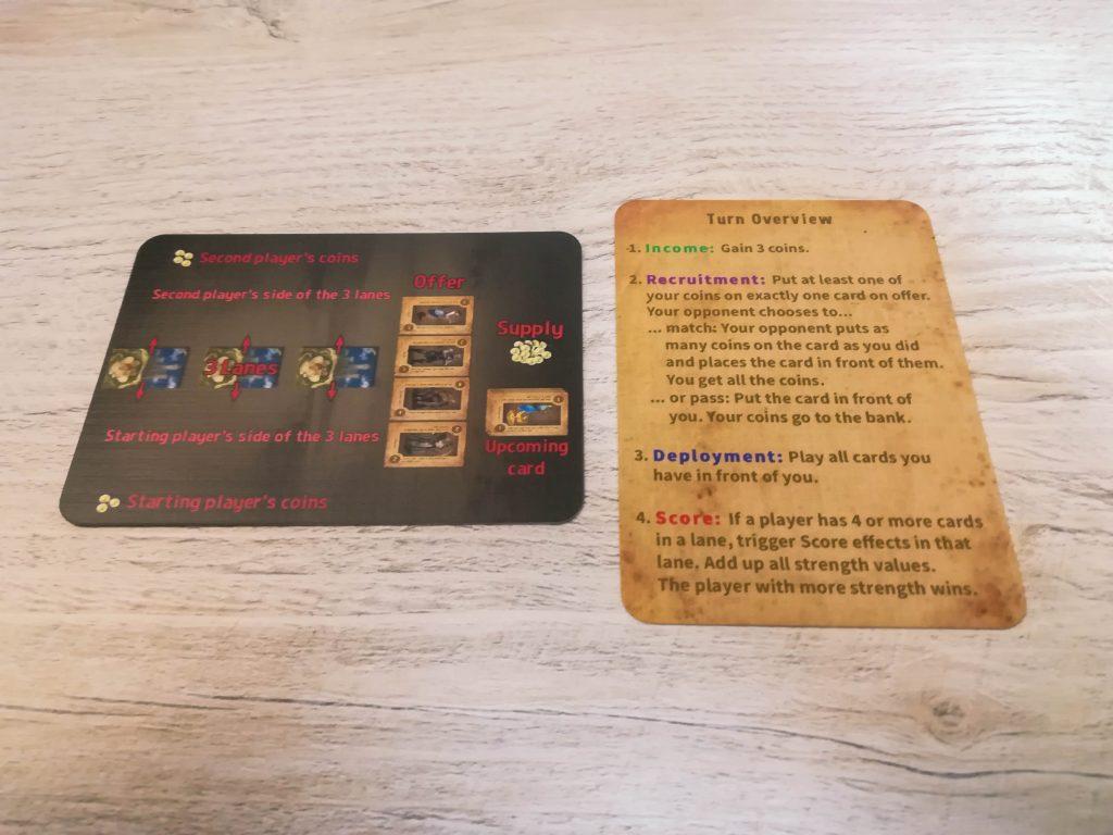 Crimson Company reference card