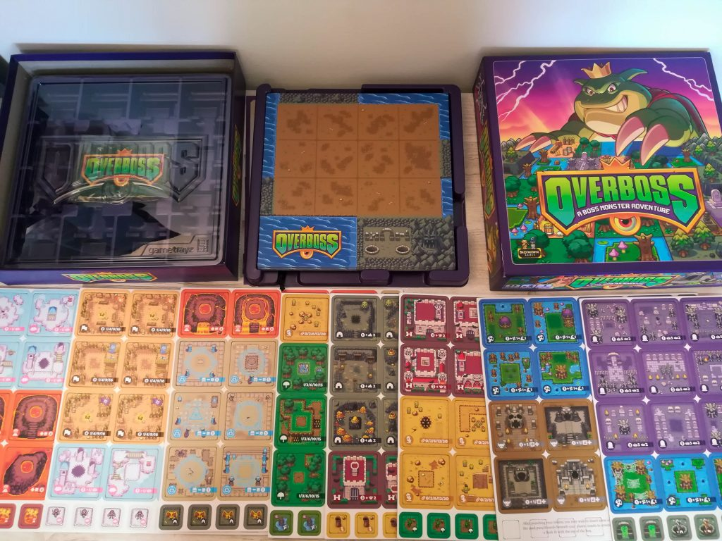 Overboss punchboards