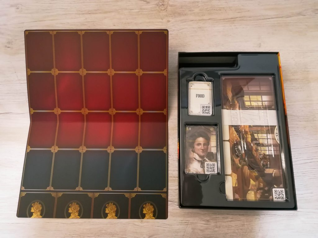 Chronicles of Crime: 1900 Evidence Board and insert